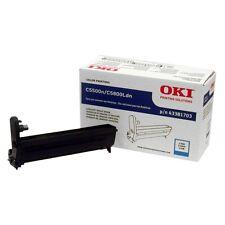 Genuine Oki 43381703 Cyan Image Drum 20000 Page For C5500n, C5800Ldn Printers