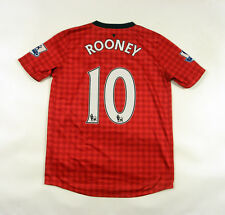 * Shirt Manchester United 2012-2013 Home Football Jersey Y Roney 10