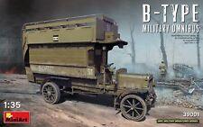 Mini Art 39001 Model kit 1/35 B-TYPE MILITARY OMNIBUS (Old Bill Bus)