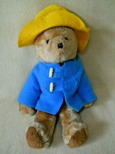 "Vintage 14"" Eden PADDINGTON BEAR Stuffed Plush Teddy Bear / 1970's ?"