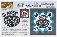 Mini Eagle Medallion Laser Cut Fusible Appliqué, Lisa Moore, DIY Quilting