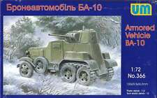 1/72 Wwii Ba-10Zd Soviet armored vehicle Um 366 Models kits
