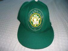 Men's size 6  7/8 Green Celtics Basketball New Era  Wool  Cap Hat