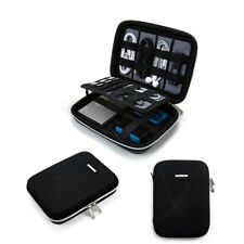 Electronic Organizer Bag Hard Eva Shockproof External Dvd Drives Travel Case