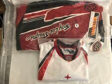 Vintage Troy Lee Designs Motocross Gear Red Black White 34 Large