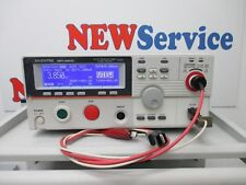 GW INSTEK GPT_9803 Tester resistenza di isolamento Completo di cavi