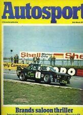Autosport March 16th 1978 Brands Hatch ETCC & Thruxton F3