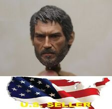 1/6 Joel male European head The Last of Us for hot toys phicen SHIP FROM US