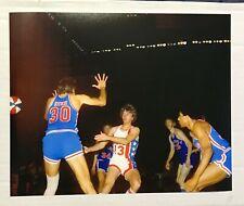 1972 VIRGINIA SQUIRES AT NY NETS ABA 8X10 REPRINT PHOTO JULIUS ERVING JOHN ROCHE