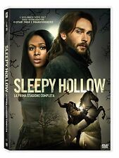SLEEPY HOLLOW - STAGIONE 1 (4 DVD) SERIE FANTASY-HORROR DELLA FOX con Ken Olin