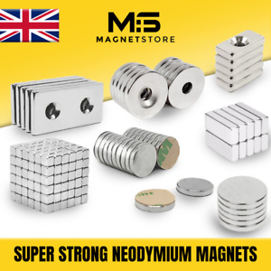 Big & Small - ALL SIZES - Strong Neodymium Magnets 1mm 2mm 5mm 10mm 20mm