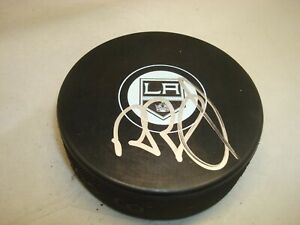 Rob Blake Signed Los Angeles Kings Hockey Puck Autographed 1B