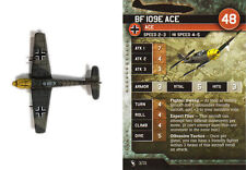Axis & Allies Angels 20 miniatures 1x x1 Bf 109E Ace base set Air Force