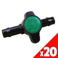 GREEN BACK VALVE 13mm Low Dens. Fittings Garden Water Irrigation 45505 EACH