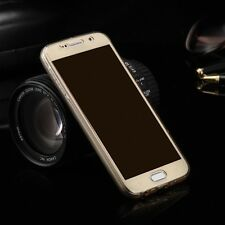 Samsung Galaxy S8 Full Body 360 Silicone étui coque coque étui doré