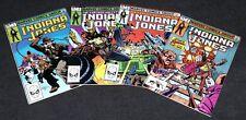 Marvel Comics Further Adventures of Indiana Jones Lot 1985 John Byrne #1-4 Fn/NM