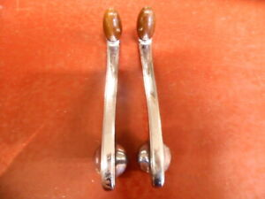 1934 1935 1936 1937 STUDEBAKER HUPMOBILE INTERIOR WINDOW CRANK PAIR #2