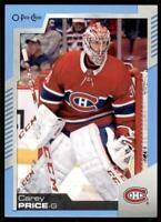 2020-21 UD O-Pee-Chee Blue Border #13 Carey Price - Montreal Canadiens