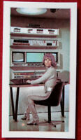 UFO - Individual Card #14 - MOONBASE OPERATIVE - George Bassett & Co - 1970