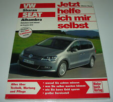 Reparaturanleitung VW Sharan / Seat Alhambra Benzin + Diesel ab Baujahr 2010 NEU