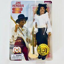 "Jimi Hendrix Monterey Pop Festival 8"" Action Figure ""Mego Corp 2020"""