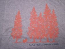 Daniel Powter, Piano, Trees, Blue,100% Cotton, Short, Short, Sleeve, Shirt, MED