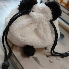 Beauty Panda Plush Pencil Case Pen Pocket Cosmetic Makeup Bag Pouch Gift Soft
