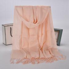 Chiffon Scarf Hijab High Quality Elegant Sarong Shawl Wrap Plain Pashmina Soft