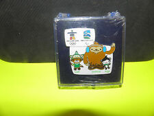 VANCOUVER 2010 OLYMPIC WINTER GAMES- MASCOTS- WELCOME PIN