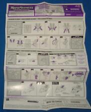 Hasbro Transformers RID Universe SUNSTORM W/ INFERNO Figure Instruction Sheet