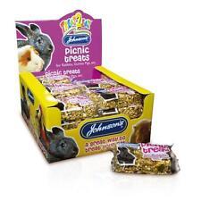 Johnsons Picnic Treats Small Animal Rabbit Guinea Pig Seed Honey Snack 50g