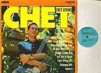 CHET ATKINS chet CDS 1014 uk rca camden LP PS EX/EX