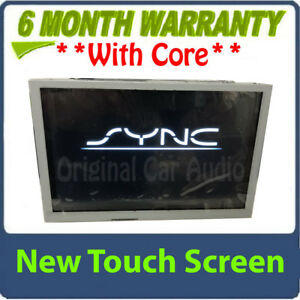 "REMAN 13-15 Ford F250 F350 OEM 8"" Sync Radio Information Touch Screen Display"