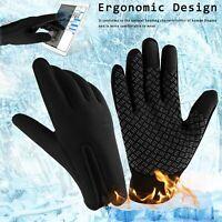 Men Women Winter Sports Warm Gloves Waterproof Thermal Ski Touch Screen Mittens