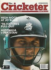 Cricketer Magazine (Wisden) - January 1996 - Mike Atherton