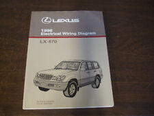 1998 LEXUS LX470 LX 470 ELECTRICAL WIRING DIAGRAM Service Repair Manual