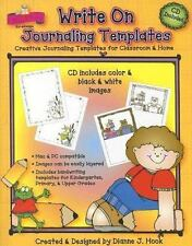 Write on Journaling Templates: Creative Journaling Templates for Classroom & Hom