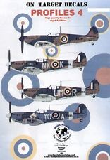 Model Alliance 1/48 On Target decals Supermarine Spitfire # 48114