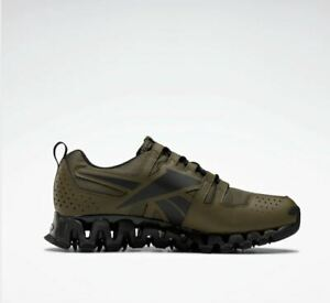 Reebok ZigWild Trail 6 Men's Sneakers Shoes Army Green/Grey New US Size 10