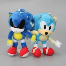 "Sonic The Hedgehog 18cm 7"" Sonic Plush Toys Metal Sonic Stuffed Doll Super Sonic"