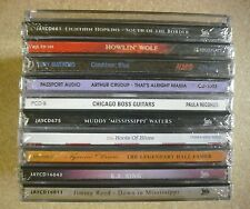 1 LOT OF 11  ASSORTED  BLUES  CDs  - NEW - SEALED  (E)