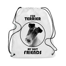Borsa Sacca cane FOX TERRIER MY BEST FRIEND