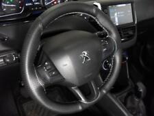 Coprivolante  Peugeot 208 vera pelle nera