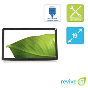 """Dell E1912H 19"""" 1366x768 16:9 LED LCD Backlit Widescreen Monitor ONLY - Grade A"""