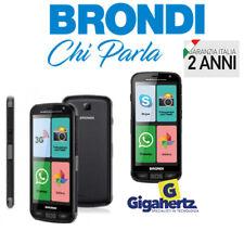 "Brondi Amico SMARTPHONE 5.0"" Dual Sim 3G Quad Core 4GB WHATSAPP GARANZIA ITALIA"