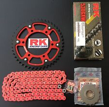 RK GXW Supersprox Kettensatz Yamaha R1, RN12, RN19, 17-45-118, Stealth red core
