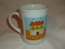1982 Cobblestone Lane BIBLIOTHEQUE By Vivi Ceramic Coffee Cup Mug
