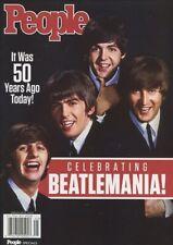 People Magazine Commemorative 50 Years Ago Today THE BEATLES BEATLEMANIA
