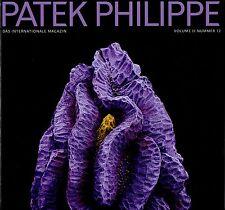 Patek PHILIPPE MAGAZINE Magazin volume II N # 12 dodici Zwölf Tedesco Deutsch NUOVO