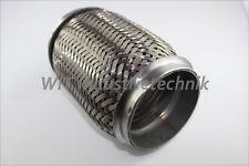 Flexrohr Interlock 76mm 76,1mm Länge 150mm Flexstück Edelstahl